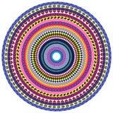 Vrede en Liefde Mandala Stock Afbeelding