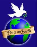 Vrede op Aarde/eps royalty-vrije illustratie