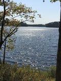 Vrede op het meer royalty-vrije stock afbeeldingen