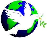 Vrede ter wereld stock illustratie