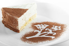 Vrede van cake Stock Foto's