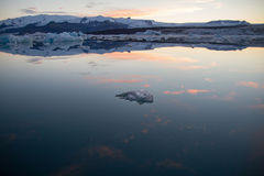 Vrede van ijs Stock Foto's