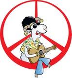 Vrede voor altijd! vector illustratie