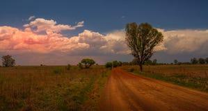 Vredefort kopuły krajobraz w Południowa Afryka obrazy stock
