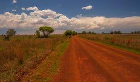 Vredefort kopuły krajobraz w Południowa Afryka fotografia stock