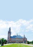 Vredespaleis, tana Haag immagini stock libere da diritti
