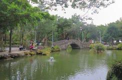 228 vredespark Taipeh Taiwan Stock Foto