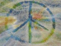 Vredessymbool Stock Afbeelding