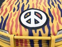 Vredesteken op Auto Stock Afbeelding