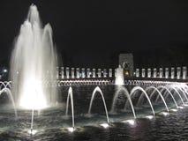 Vreedzaam Gedenkteken bij Nacht Royalty-vrije Stock Fotografie