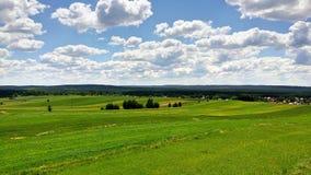 Vreedzaam landschap Royalty-vrije Stock Afbeelding