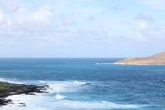 Vreedzaam Landschap in Hawaï royalty-vrije stock fotografie