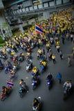 Vreedzaam straatprotest Royalty-vrije Stock Foto's