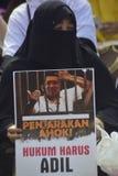 Vreedzame actie 505 in Semarang Stock Fotografie