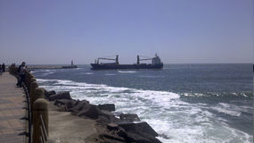 Vreedzame Antofagasta Chili Royalty-vrije Stock Afbeelding