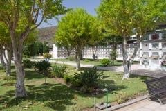 Vreedzame Begraafplaats bij La Palma, Spanje Royalty-vrije Stock Foto