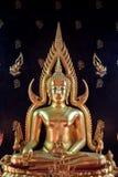 Vreedzame Boedha Bangkok, Thailand Royalty-vrije Stock Afbeelding