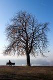 Vreedzame eenzaam Royalty-vrije Stock Fotografie