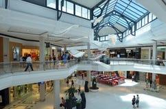 Vreedzame Eerlijke Winkelcentrum Gouden Kust Australië Stock Afbeelding