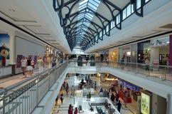 Vreedzame Eerlijke Winkelcentrum Gouden Kust Australië Stock Afbeeldingen