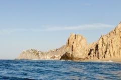 Vreedzame kustlijn op het Eind van het Land royalty-vrije stock afbeelding