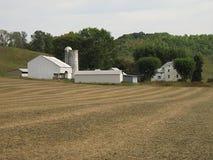 Vreedzame Landbouwgrond stock afbeeldingen