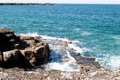 Vreedzame oceaan Stock Afbeeldingen