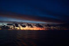Vreedzame oceaan Royalty-vrije Stock Fotografie