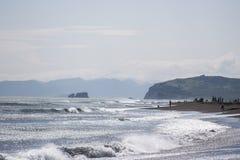 Vreedzame oceaan Royalty-vrije Stock Afbeeldingen