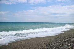 Vreedzame oceaan Stock Foto's