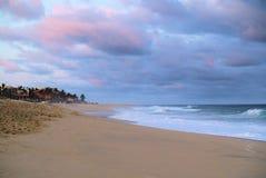 Vreedzame oceaanmening in Los Cabos Mexico royalty-vrije stock fotografie
