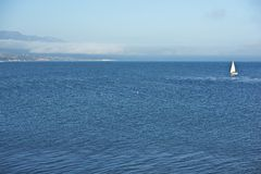 Vreedzame Oceaansanta barbara stock foto's