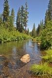 Vreedzame rivier Stock Foto's