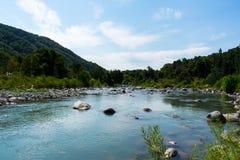 Vreedzame rivier Royalty-vrije Stock Fotografie