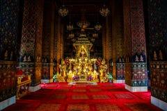 Vreedzame tempel Royalty-vrije Stock Foto