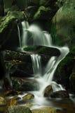 Vreedzame waterval royalty-vrije stock foto