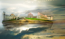 Vreemd eiland Royalty-vrije Stock Foto's