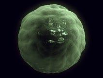 Vreemd fantasie onbekend levend micro- voorwerp Vector Illustratie