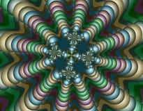 Vreemd Fractal Art. Stock Afbeelding
