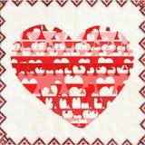 Vreemd hart. Royalty-vrije Stock Fotografie