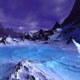 Vreemd landschap Royalty-vrije Stock Afbeelding