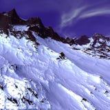 Vreemd landschap Stock Afbeelding