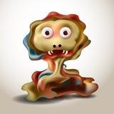 Vreemd Monster royalty-vrije illustratie