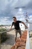 Vreemde abductie Stock Fotografie