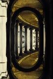 Vreemde architectuur royalty-vrije illustratie