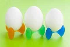 Vreemde eieren Royalty-vrije Stock Foto's