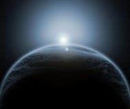 Vreemde planeet Royalty-vrije Stock Afbeelding