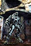 Vreemde robot Stock Foto's