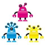 Vreemde robots Stock Fotografie