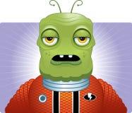 Vreemde Spacesuit vector illustratie